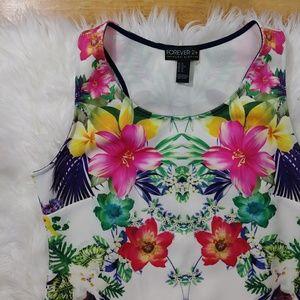 Forever 21 Dresses - Forever 21 plus floral dress